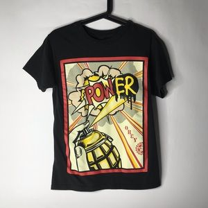 OBEY Spray Paint T Shirt Size Small